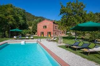 Hus/villor Italien